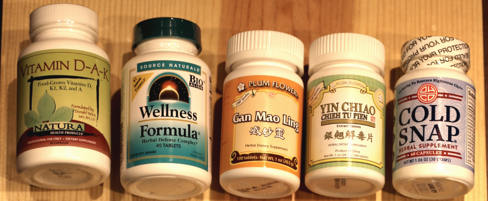 Wellness formula and Chinese herbs